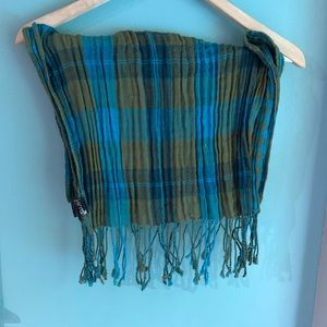 "70"" x 20"" Kirra Plaid Scarf"